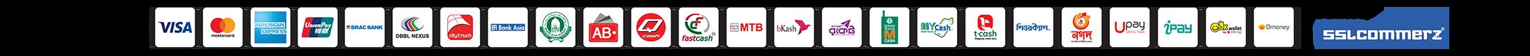 bdwebtech payment option bkash rocket credit card visa mastercard nagad